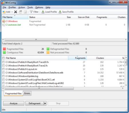 free file defragmentation tool