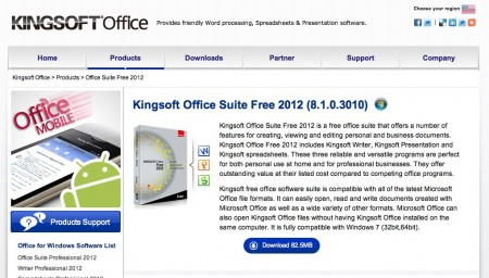 Kingsoft Office Suite