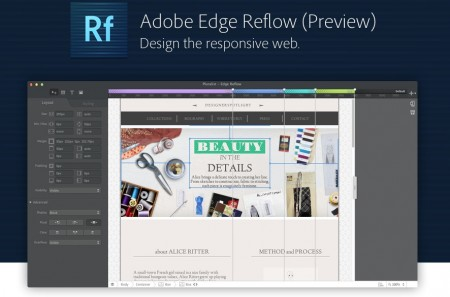 Adobe Edge Reflow (Preview) Design the responsive web