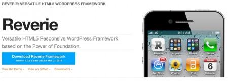 HTML5 responsive WordPress framework