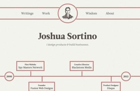 responsive web design - joshua sortino