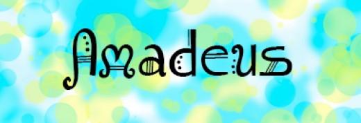 Font - Amadeus