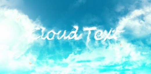 Interesting Cloud Text Effect