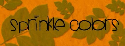 Sprinklescolors font