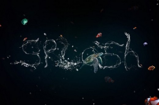 Stunning Liquid Text Effect