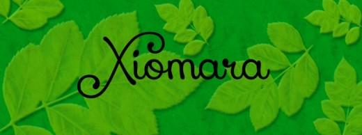 Xiomara font