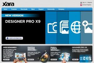 xara web design software