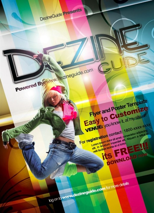 Download Free Dezine Flyer