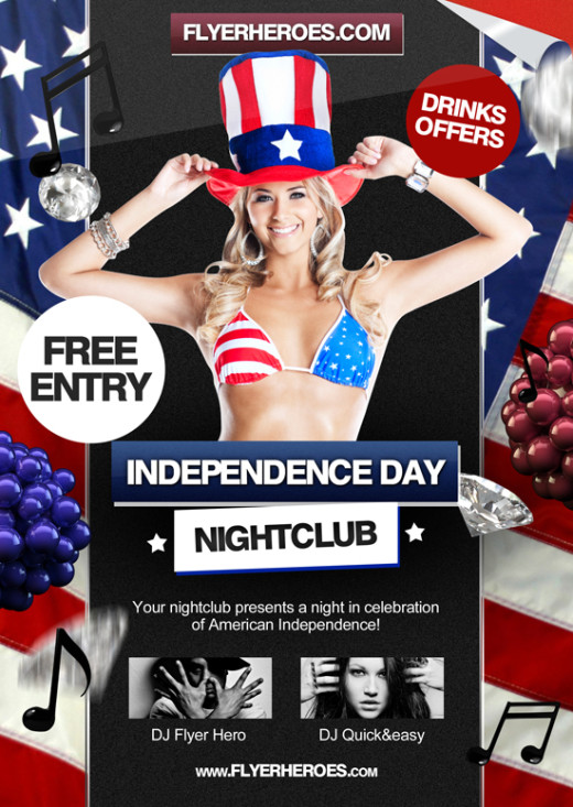 Free-4th-of-July-Flyer-Template