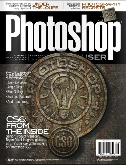 Photoshop User magazines for digital artist