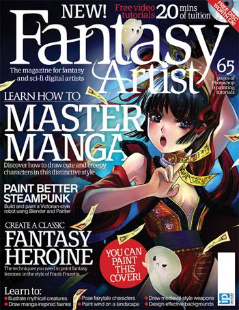 Fantasy Artist magazine for digital artists