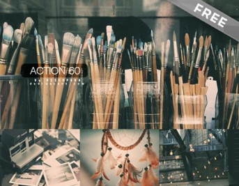 50 Top Free Photoshop Actions to Save Hell of a lot of Time