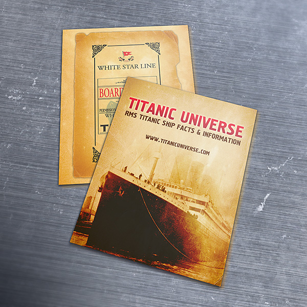Titanic Business Card