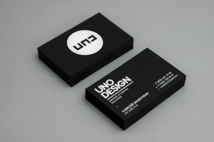 50 Minimalistic Business Card Design and Ideas