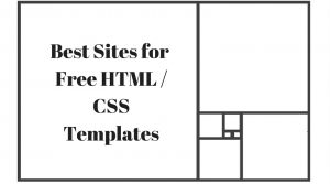 23 Sites For Downloading Free HTML / CSS Templates