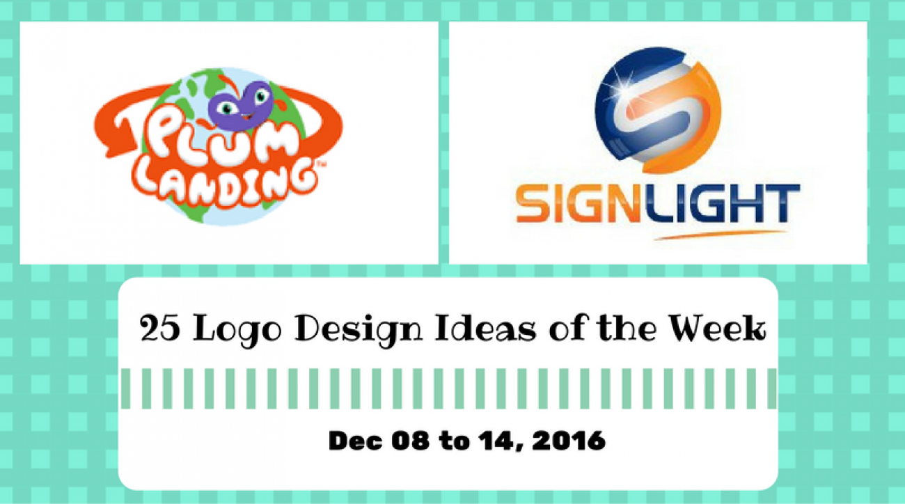 25 Logo Design Ideas of the Week - Dec 08 to 14, 2016