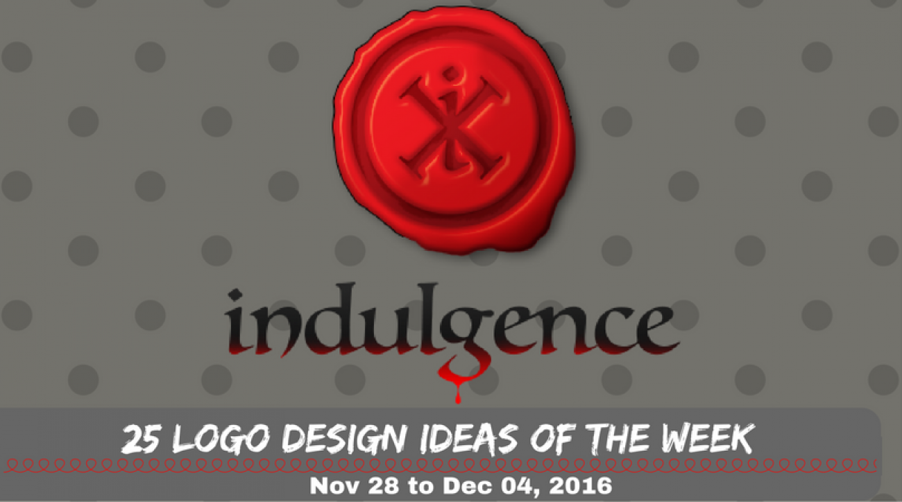25 Logo Design Ideas of the Week - Nov 28 to Dec 04, 2016