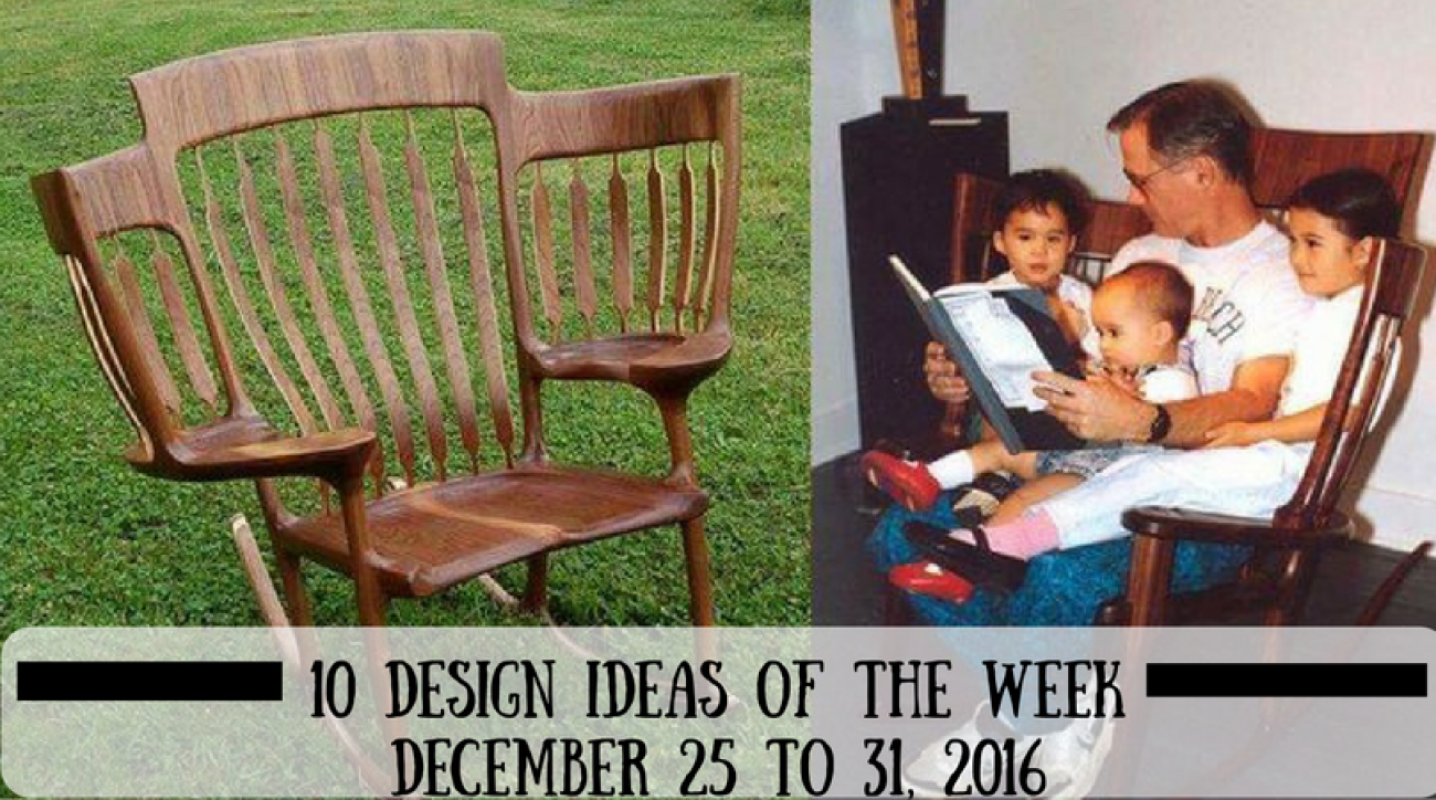 10 Design Ideas of the Week - December 25 to 31, 2016