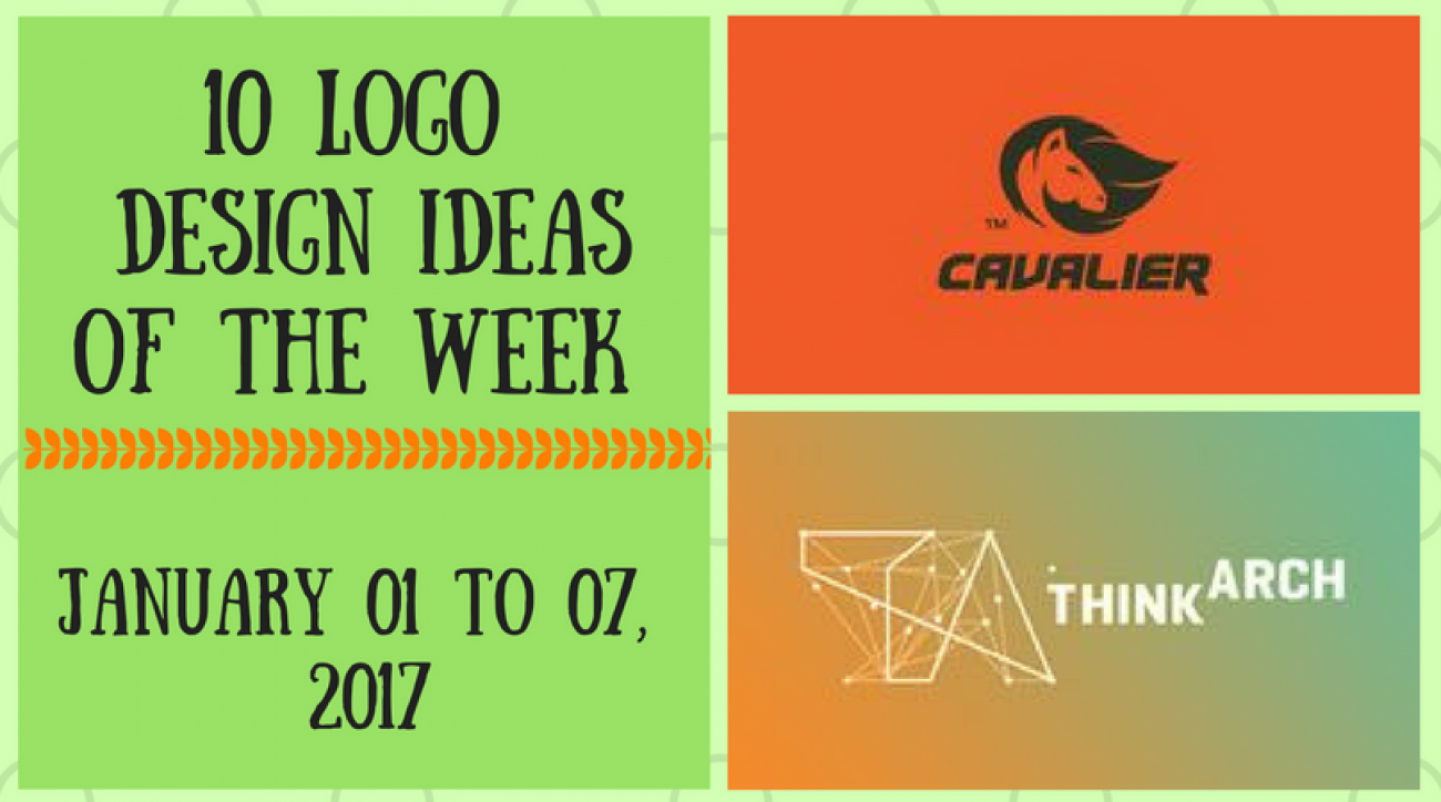 10 Logo Design Ideas of the Week - January 01 to 07, 2017