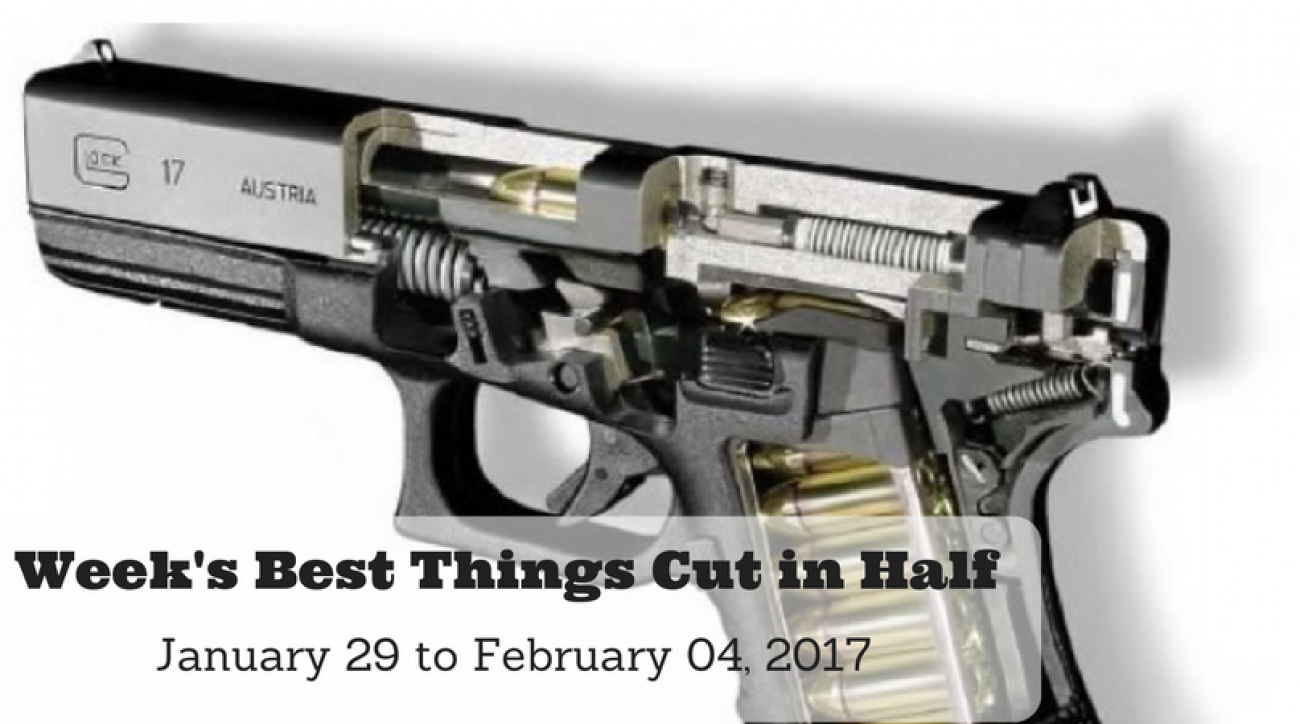 Week's Best Things Cut in Half - January 29 to February 04, 2017
