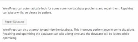 repair database